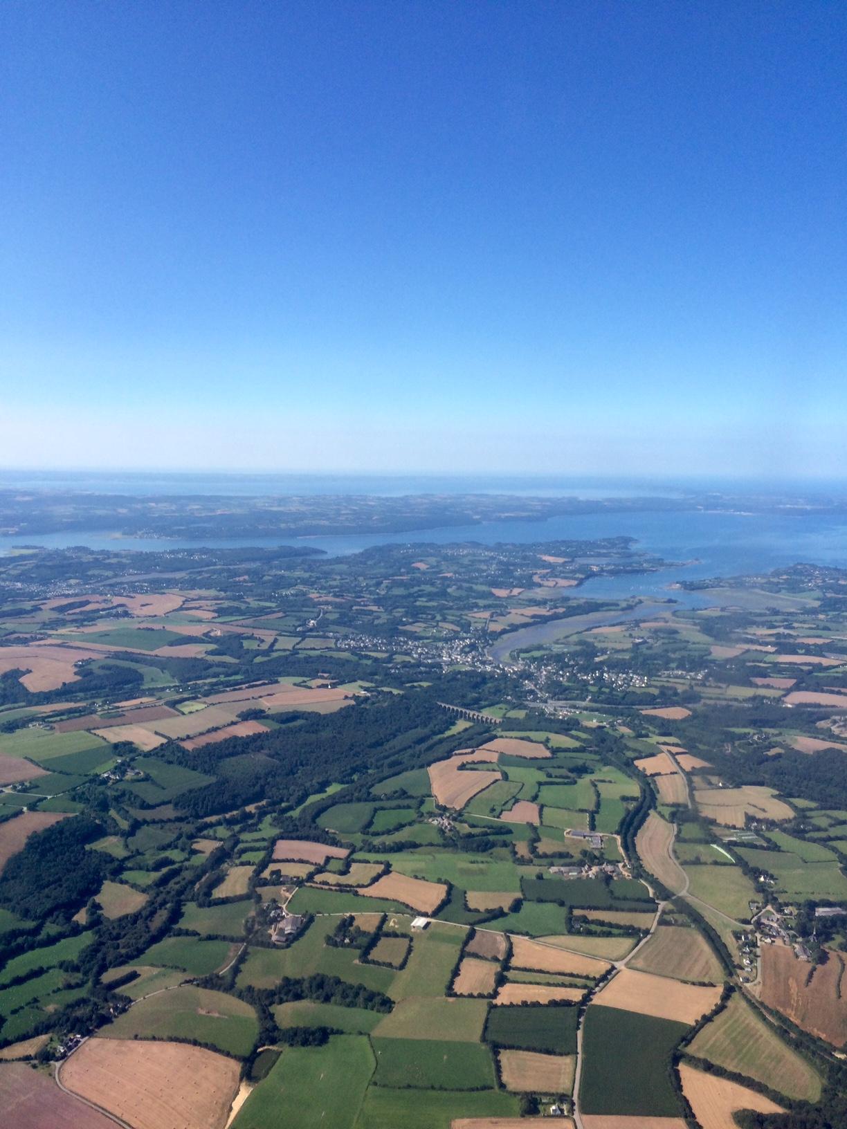 Logonna-Daoulas vue du ciel